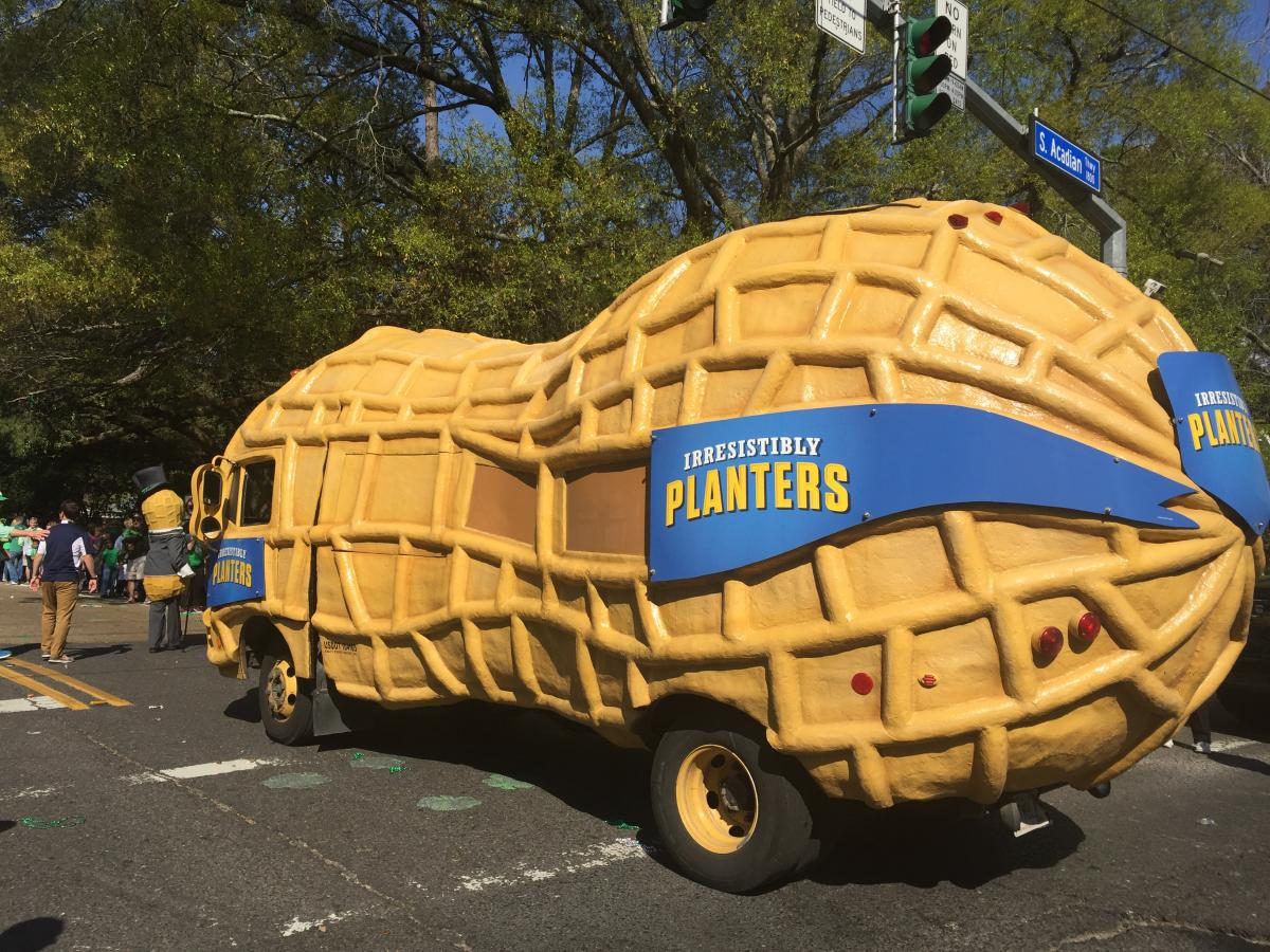 Planters NUTmobile Wearin of Green Parade